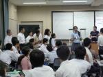 インドの高校生との交流