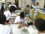 理数物理の授業(総合理学科2年生)
